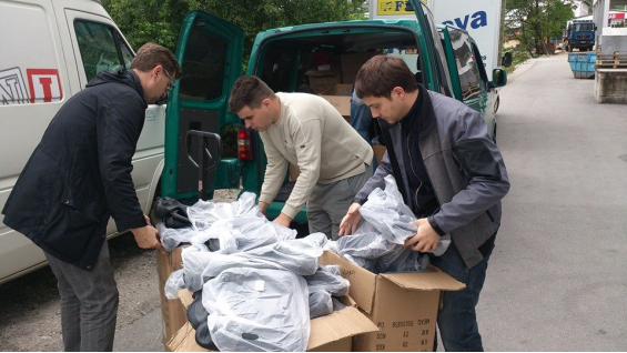 Jewish Community of Sarajevo is already helping distribute goods, but they have no funds to buy mow