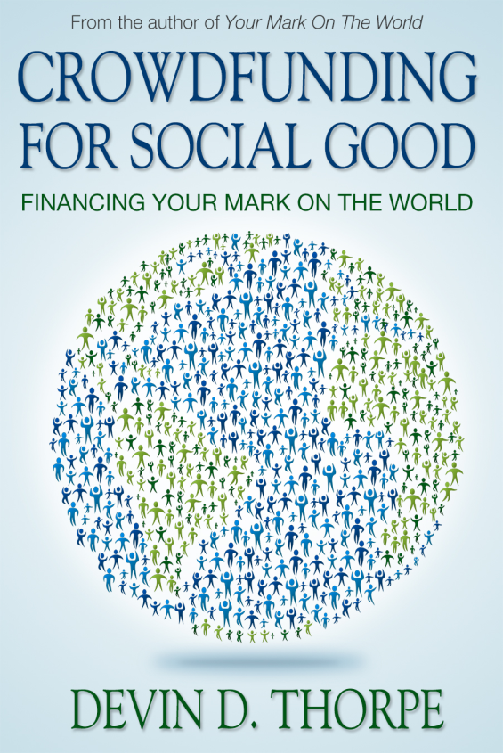 Book Cover: Crowdfunding for Social Good