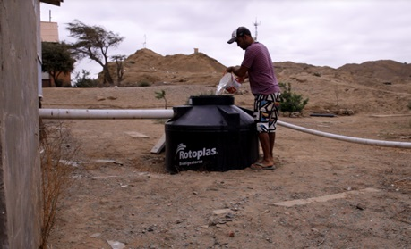 Biodigester use in a Lobitean house