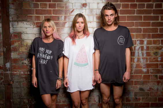 Was Your Boyfriend Tee, One in a Melon Sleep Tee, or the iconic ONS vintage black tee