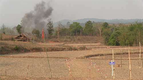 Nine Less Cluster Bombs In Laos