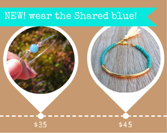 Shared Blue Bracelets