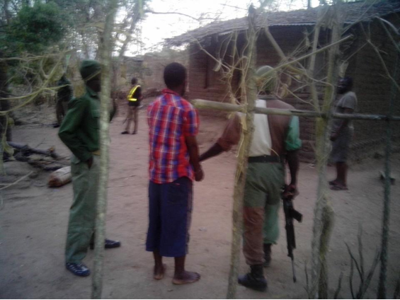 Malawi rangers arrest an ivory trafficker after running an undercover sting.