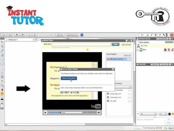 Screen shot of InstantTutor