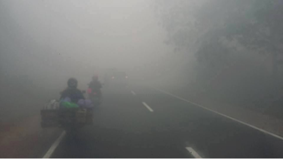 Smoke in Central Kalimantan - The Burning Season