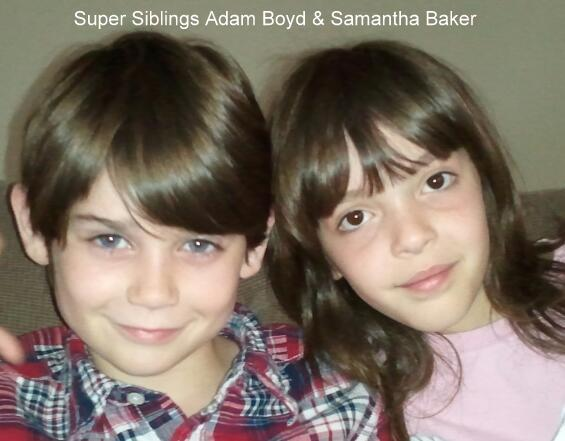 Adam Boyd and Samantha Baker