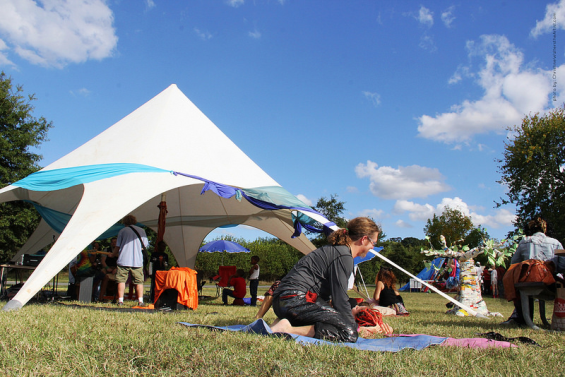 Meso Tent at FIGMENT 2013