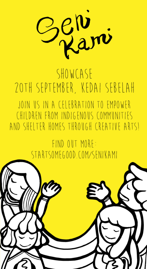 Your support and contribution for the showcase would be greatly appreciated by the children and Senikami