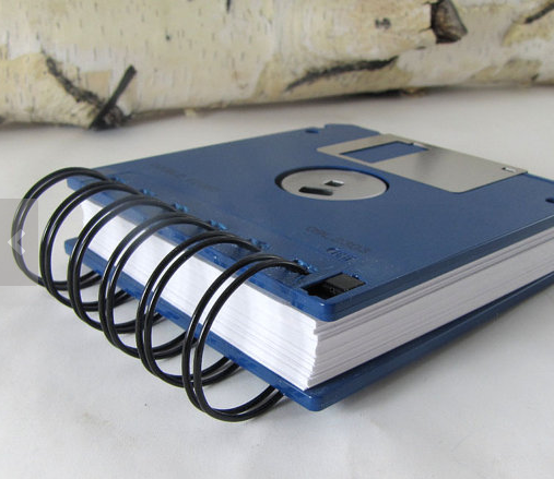 Floppy Disk Cover NotePad