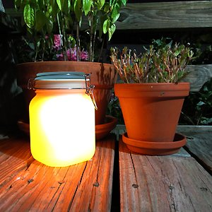 Solar Powered Jars