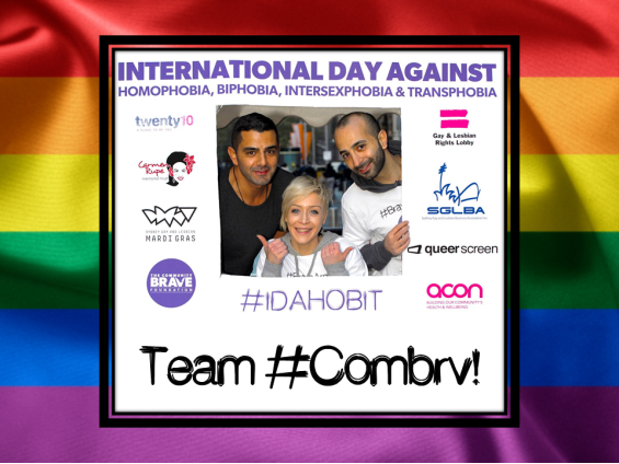 Combrave Team IDAHOBIT 2013