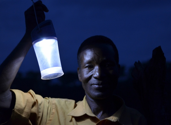 Solar Lighting in Zatuba Village