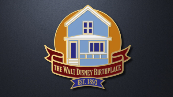 The Walt Disney Birthplace Collectible Pin
