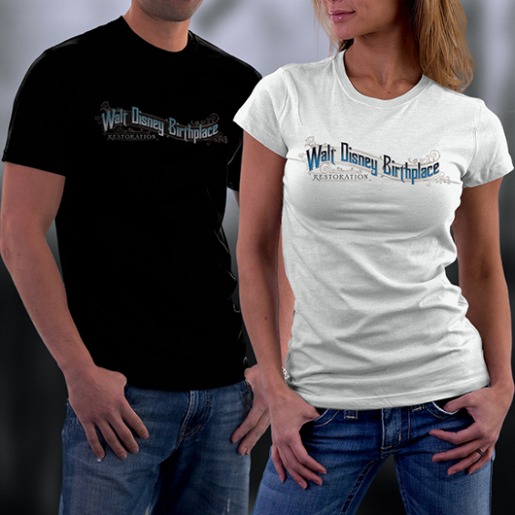 Walt Disney Birthplace Restoration T-Shirts