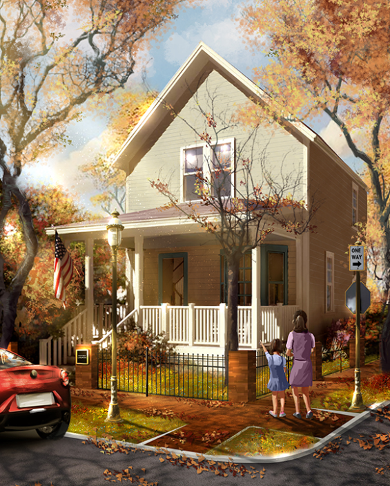 The Walt Disney Birthplace Restoration Concept Art