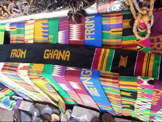 Light the world bongo ghana startsomegood personalized kente stripsash kente stripsash greetings from ghana m4hsunfo