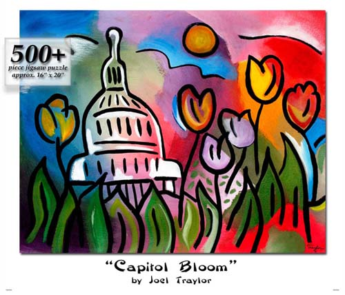 Capital Bloom Puzzle