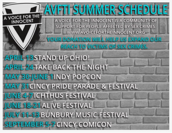 AVTFI Summer Schedule