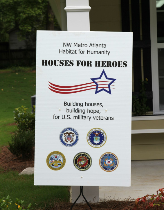 Houses for Heroes!